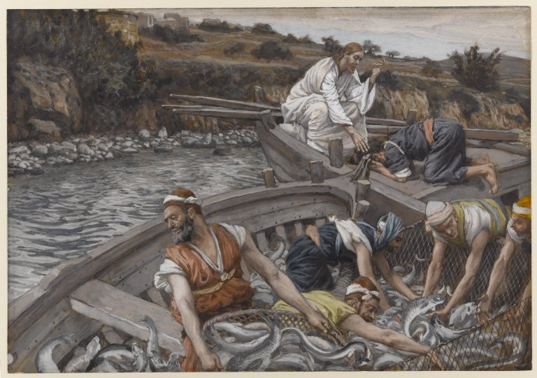 """""""Miraculous"""" catch of fish"""