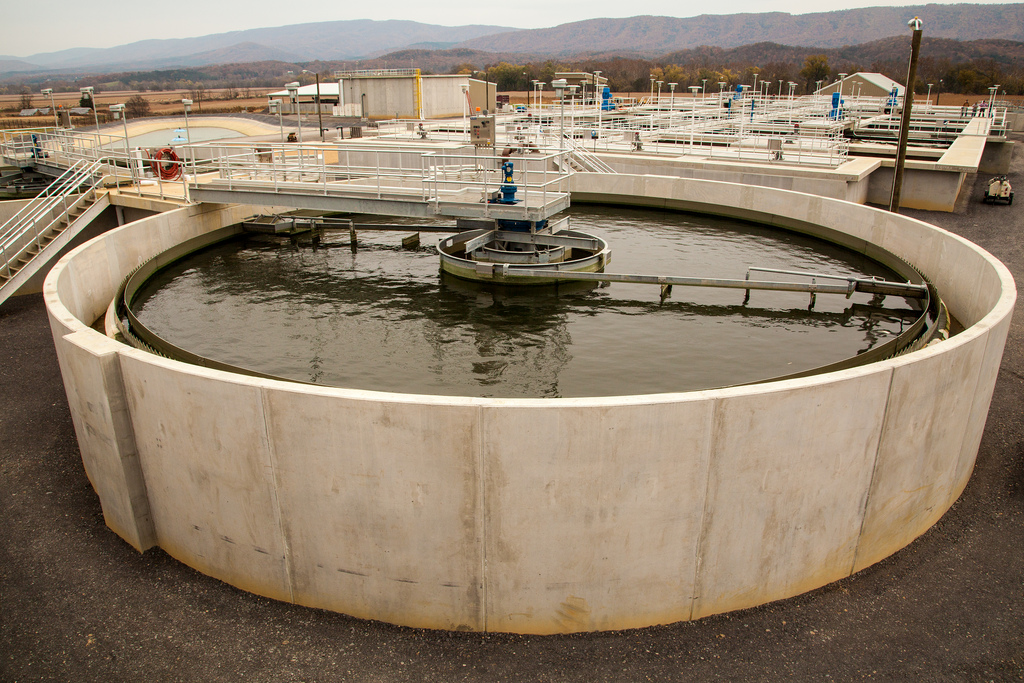 Moorefield, WV wastewater treatment plant