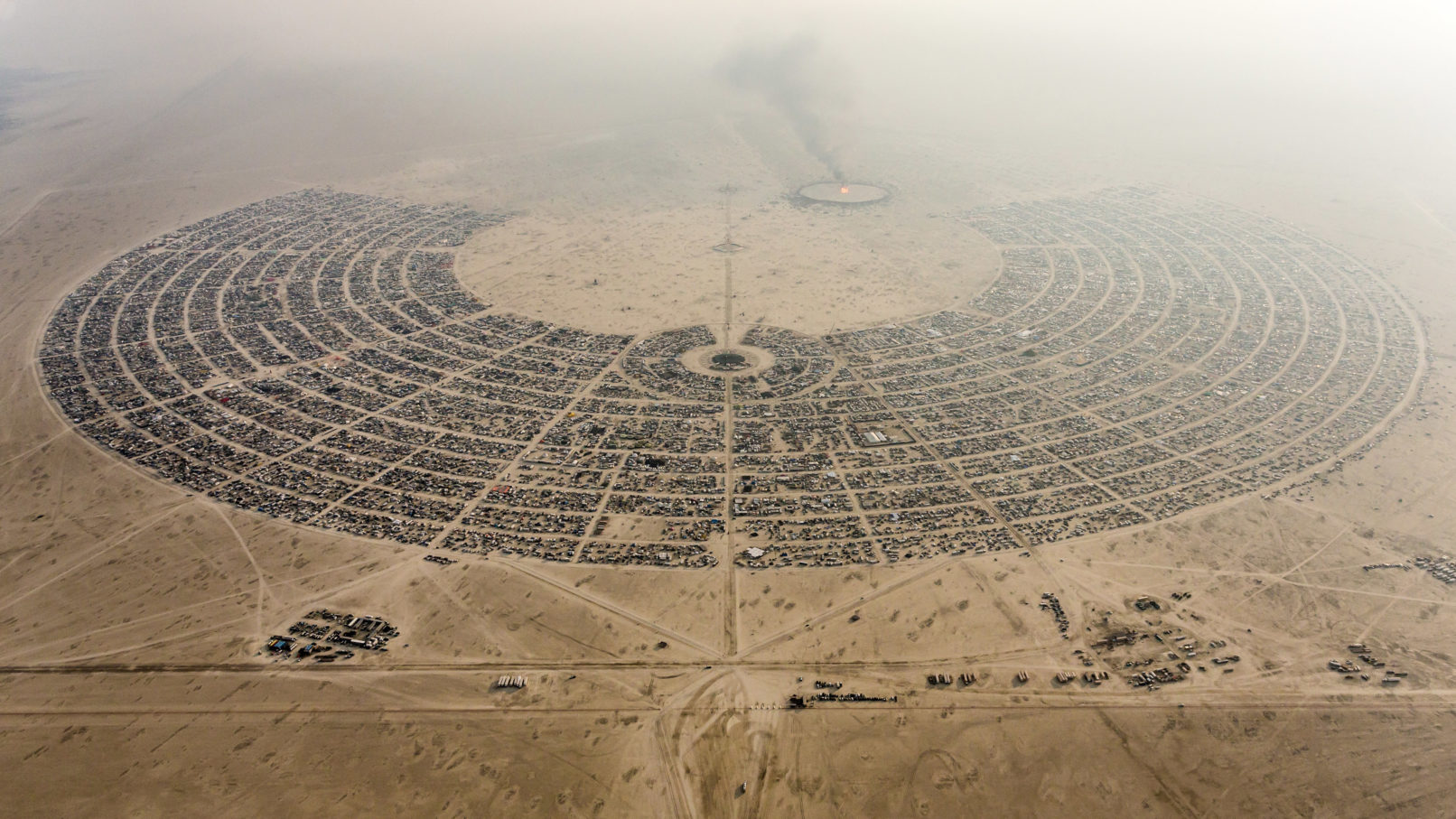 Burning man satellite photo 2012 DigitalGlobe s Top Satellite Images of 2012 «TwistedSifter